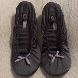 Victoria's Secret grey slippers